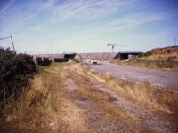 A recce of the derelict buildings of the old Boulogne Hoverport - Approach road (N Levy).